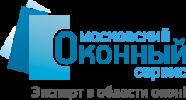 Логотип Московский оконный сервис